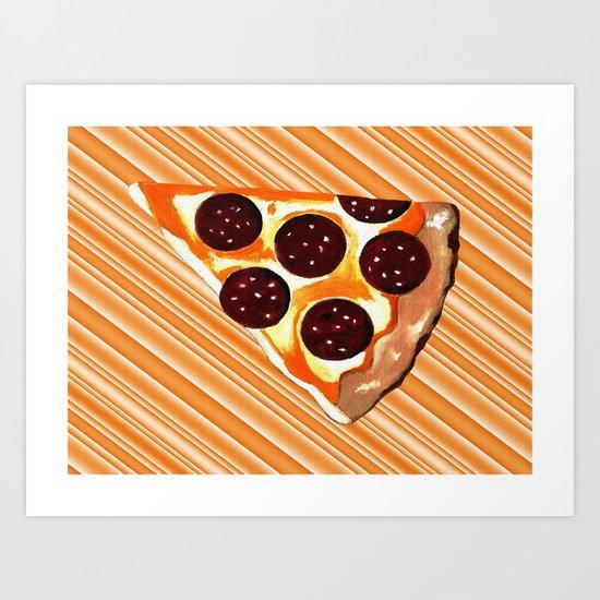The Slice Art Print