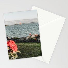 The Round Island Light Stationery Cards