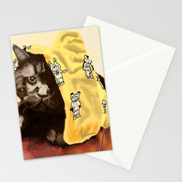 We Are Not Amused Stationery Cards