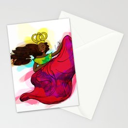 Reina Congo - Congo Queen Stationery Cards