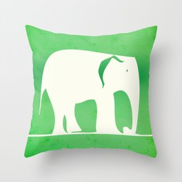 Sweet Elephant Throw Pillow
