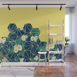 Tropical Tiles #society6 #decor #buyart Wall Mural