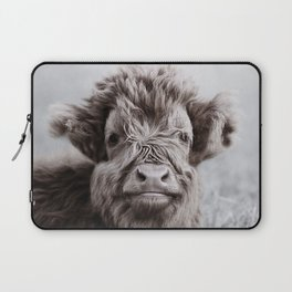 HIGHLAND CATTLE CALF ALF Laptop Sleeve