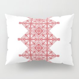 Traditional Latvian Ornament Pillow Sham