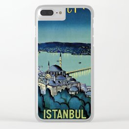 Golden Horn Istanbul Clear iPhone Case