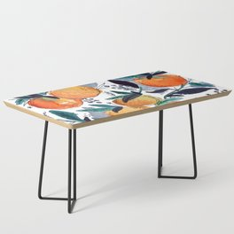 spring oranges Coffee Table