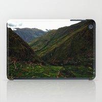 peru iPad Cases featuring Rural Peru by miranda stein