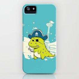 Pirate Rex iPhone Case