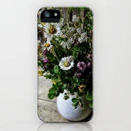 July Bouquet iPhone Case