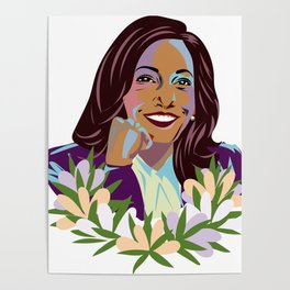 Madam Vice President for the People Poster