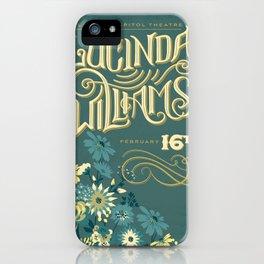 Lucinda Williams  iPhone Case