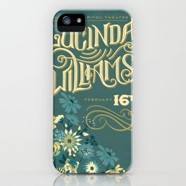 Lucinda Williams  iPhone Case