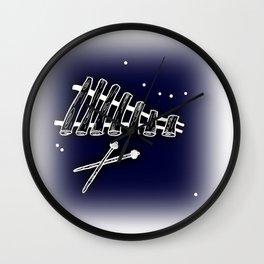 Space Marimba Wall Clock