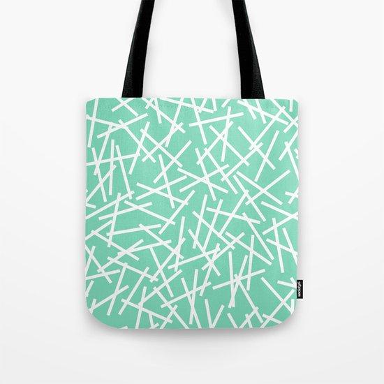 Kerplunk Mint Tote Bag