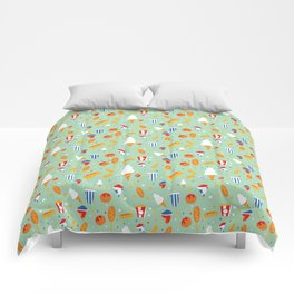 Circus Food Comforters