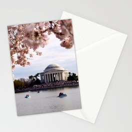 Cherry Blossoms of DC Stationery Cards
