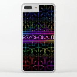 Psychonaut Clear iPhone Case