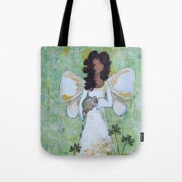 Angel of Abundance Tote Bag