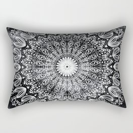 ORGANIC BOHO MANDALA Rectangular Pillow