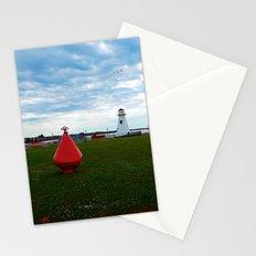 Marker Buoy and Lighthouse Stationery Cards