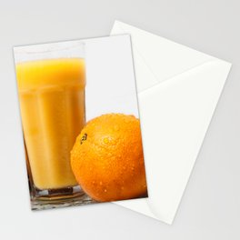 When life gives you oranges Stationery Cards
