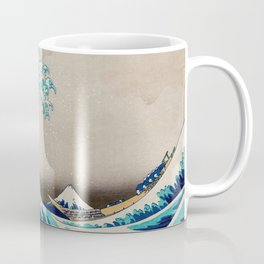 Massive Waves Japanese Art Coffee Mug