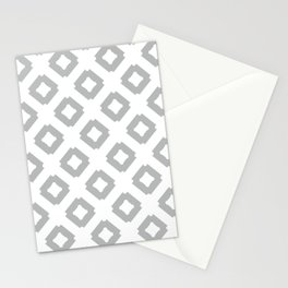 Graphic_Tile Grey Stationery Cards