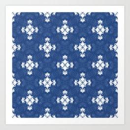 Pleasure in Blue... Art Print