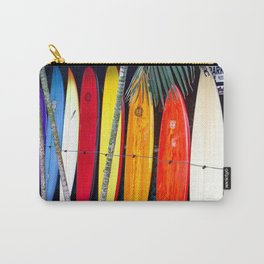 Surf board print Carry-All Pouch