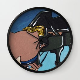 The Hippolyte cat Part#20 Wall Clock