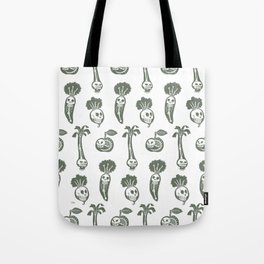 X-rays vegetables (white background) Tote Bag
