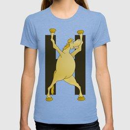 Pony Monogram Letter H T-shirt