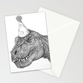 Party Dinosaur Stationery Cards