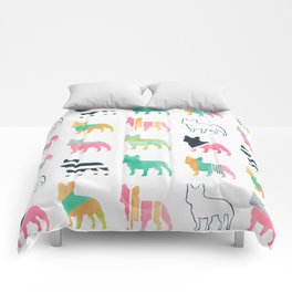 French Bulldogs Comforters