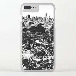 The Gay Beach, San Francisco Clear iPhone Case