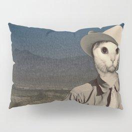 Rhinestone Cowboy cat Pillow Sham