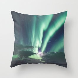 Aurora - Landscape and Nature Photography Throw Pillow