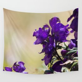 Lupin flowers on the Pyrenees Wall Tapestry