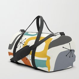 Mid Century Modern Shapes 02 #society6 #buyart Duffle Bag