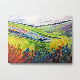 oxford hills Metal Print