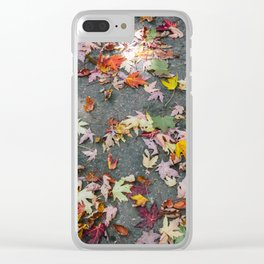 Maple Leaf Clear iPhone Case