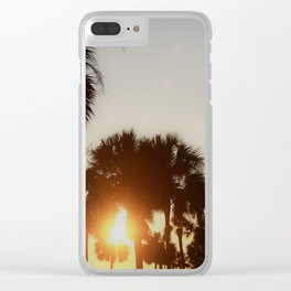 CHS Sunset Clear iPhone Case