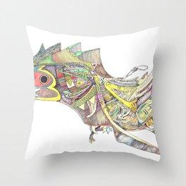 Old World 1 Throw Pillow