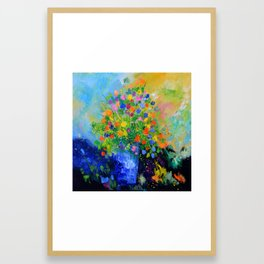 Colourful still life Framed Art Print