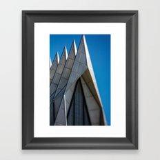 Air Force Church Framed Art Print