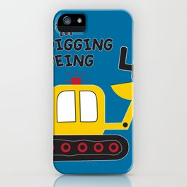 I'm digging being 4 iPhone Case