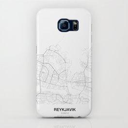Reykjavik, Iceland Minimalist Map iPhone Case