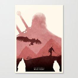 Witcher Canvas Print