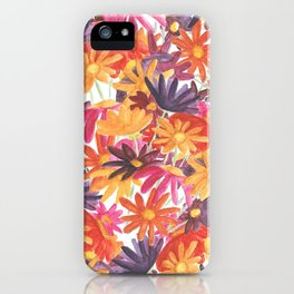 Sunset Flower iPhone Case