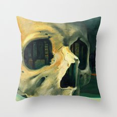 Civilizations Oil Painting Throw Pillow